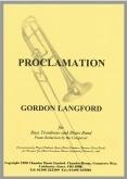 PROCLAMATION (Bass Trombone) - Parts & Score - Just Music