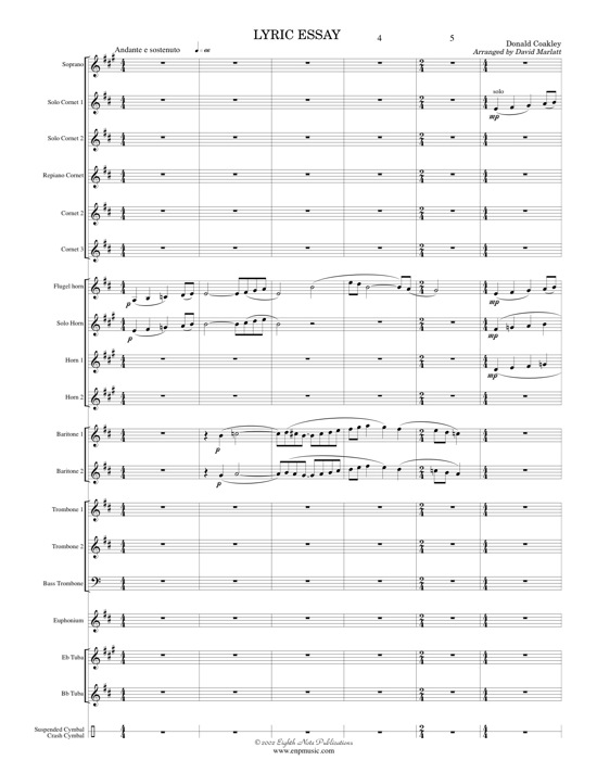 lyric essay coakley By donald coakley concert band conductor score & parts lyric essay is written in a neo-romantic style it is a slow, reflective work with much opportunity for musical expression this piece (previously published by e c kirby) has been performed all throughout canada, the united states and in.