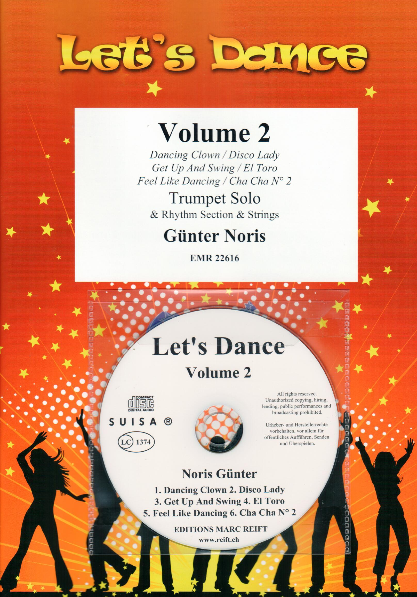 LET'S DANCE VOLUME 2 - Just Music - Brass Band Music and CDs